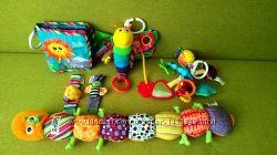 Развивающие игрушки Lamaze от 0м.