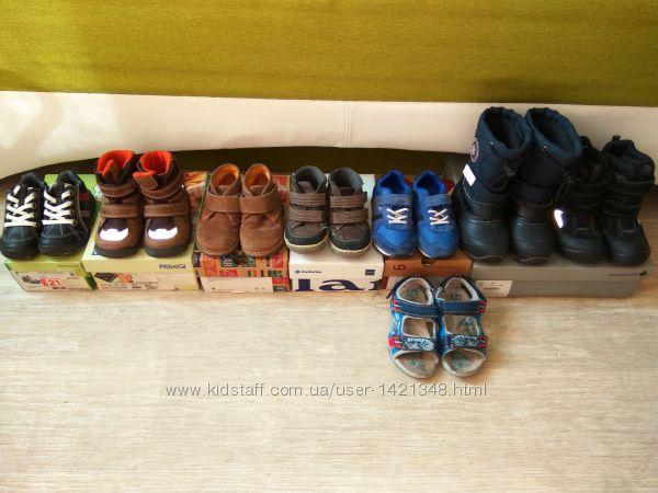 Фирменная обувь на мальчика р. 21-25