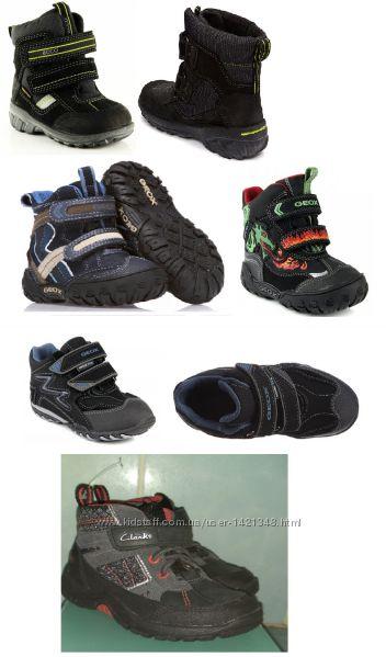 Акция Сапоги, ботинки зима р. 21-14см, 22-14. 7см, 23-15. 4см, 24-16см