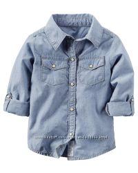 04b87272a0b Стильные джинсовые рубашки OshKosh и Gymboree