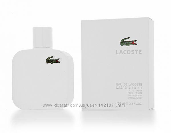 Lacoste eau de lacoste l12. 12 blanc мужской аромат 100мл