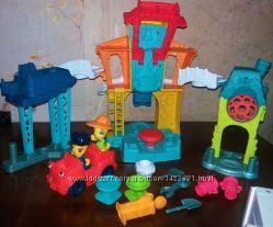 Большой набор для лепки Play-Doh Hasbro Плей До Город главная улица