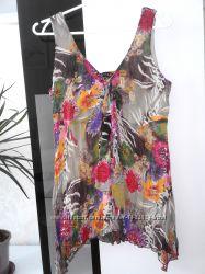 Очень красивая шифоновая блуза в прекрасных цветах joanna hope