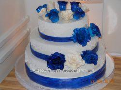 Торты свадебные домашние на заказ