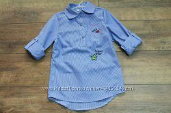 Модные рубашки для девочек