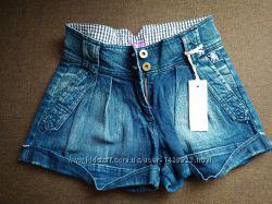Шорты джинсовые, Mauro Grifoni, для девочки