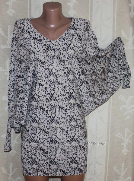 Крутое платье лёгкий трикотаж вискоза Morgan, Оригинал М