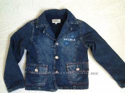 Джинсовый пиджак на флисе Gloria jeans рост 110 см