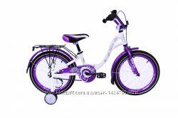 Велосипед Ardis Diana 16, 18 белыйфиолетовый, белыйсалатовый