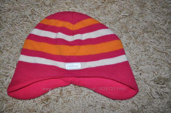 Теплая шапка на флисе Reima