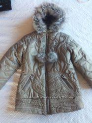 теплое деми пальтишко   MEXX р 110-116