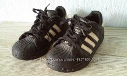 Кеды Adidas superstar черные 31 размер