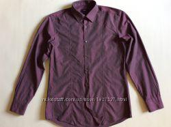 Мужская рубашка BOSS HUGO BOSS slim fit оригинал р M