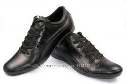 Мужские кожаные туфли 00091
