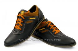Кожаные мужские туфли 00086