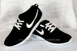 Мужские кожаные кроссовки Nike 0031