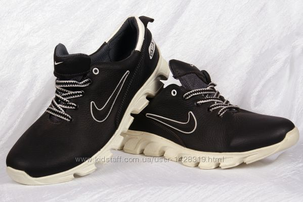 Мужские кожаные кроссовки Nike 0005