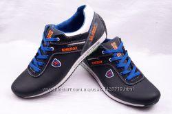 Мужские кожаные кроссовки Energy 00111