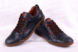 Мужские кожаные туфли Levi&acutes