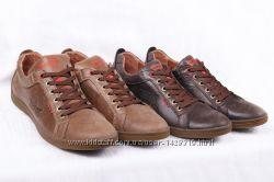 Кожаные мужские туфли Levis 00200 - 2 цвета