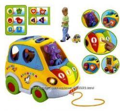 Музыкальная машинка-сортер Автошка Joy Toy, 9198