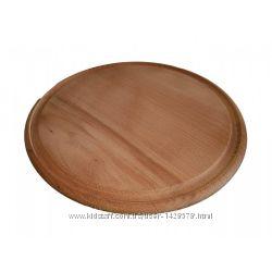Кухонная доска для нарезки  Круглая д. 28см