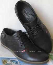 Levis обувь весна осень туфли мужские кожаные ботинки Левайс супер качество