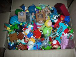 Игрушки из Хеппи мил McDonald&acutes ящиком и поштучно