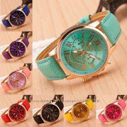 Женские наручные часы - 9 цветов