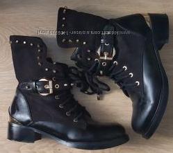 Итальянские, фирменные, оригинальные ботинки sergio todzi