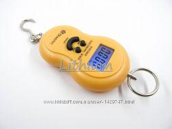 Ручные электронные весы кухонные, Кантер электронный до 50 кг. Подсветка