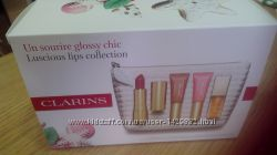 Набор для ухода за губами clarins my sparking lips collections