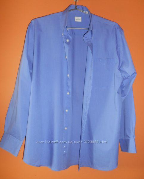 Рубашка голубая Burtons