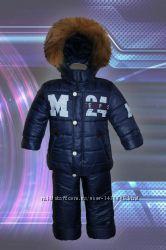 Зимний комбенизон для мальчика куртка