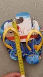 Шлепки на ножку 13. 5-14 см Новые Mothercare
