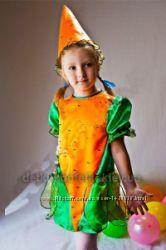 прокат костюм морковка