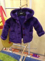 Куртка меховая. Шубка. Полушубок. Меховое пальто St. Bernard для девоч. 86