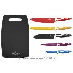Набор кухонных ножей с доской