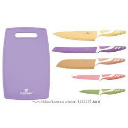 Набор ножей с доской Blaumann