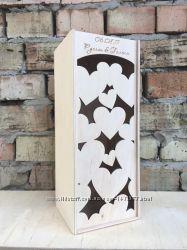 Подарочная коробка для шампанского, вина и других напитков