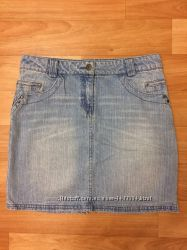Джинсовая юбка SELA , размер 44, отличная цена