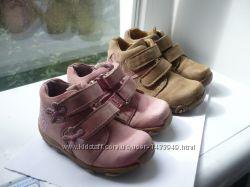 Демисезонные кожаные ботинки Elefanten 21 разм.