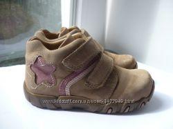 Демисезонные кожаные ботинки Elefanten 24 разм.