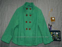 Брендовое шерстяное пальтоSouth, размер 204XL