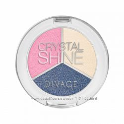тени для век Crystal Shine 02 Divage