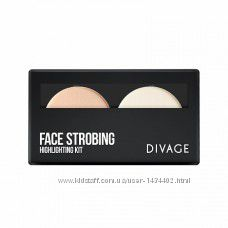 Палетка FACE STROBING Divage