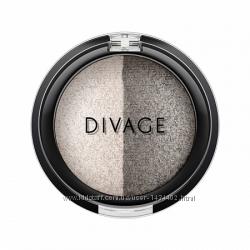 запечёные тени colour sphere duo DIVAGE