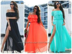 Хит продаж Шикарные платья от 40 до  54 р, около 25 расцветок каждого