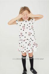 Платье для крохи H&M, 2-4 года, 4-6 лет.