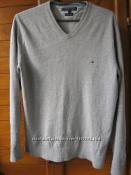 Tommy Hilfiger кофта поло, худи, свитшот, свитер, V образный